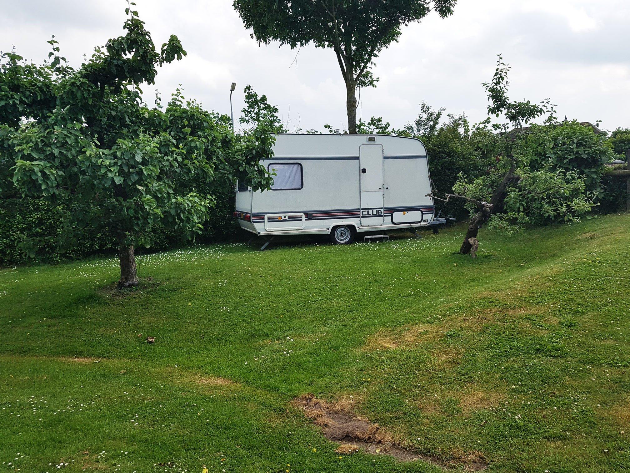 Toercaravan huren SVR camping